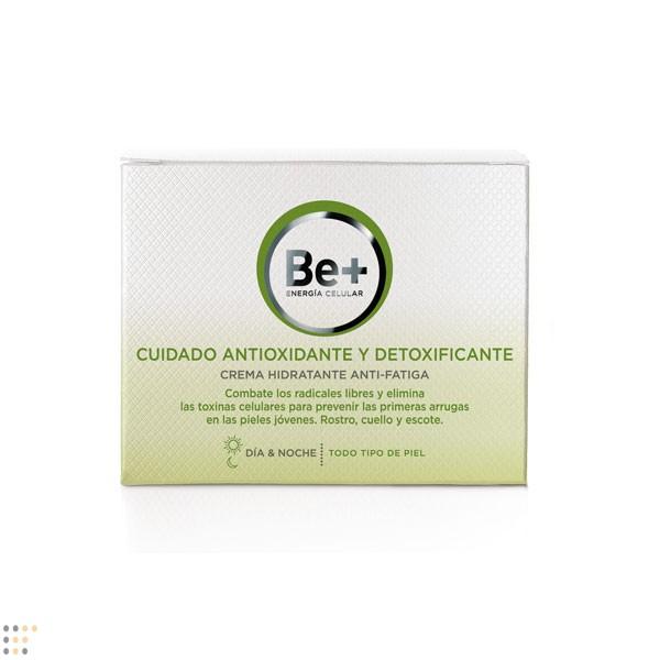 BE+ CUIDADO ANTIOXIDANTE Y DETOXIFICANTE CREMA HIDRATANTE ANTIFATIGA 50 ML