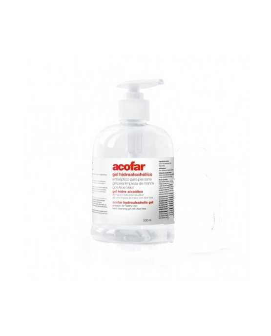 ACOFAR GEL HIDROALCOHOLICO ANTISEPTICO 500 ML