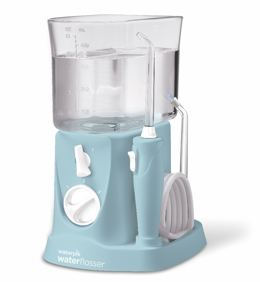 IRRIGADOR BUCAL ELECTRICO WATERPIK WP- 300 TRAVELER AZUL