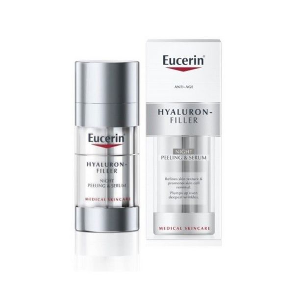 EUCERIN HYALURON FILLER NOCHE PEELING&REPAIR 30ML