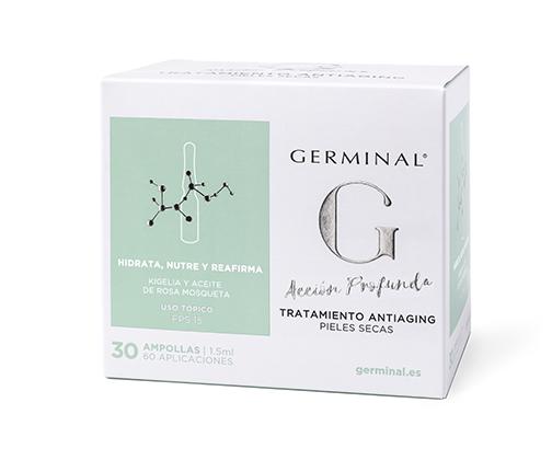 GERMINAL 3.0 TRATAMIENTO ANTIAGING  1,5 ML 30 AMP