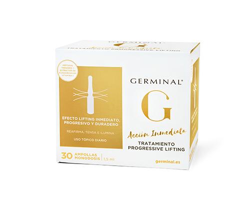GERMINAL ACCION INMEDIATA TRATAMIENTO PROGRESSIVE LIFTING 30 AMPOLLAS