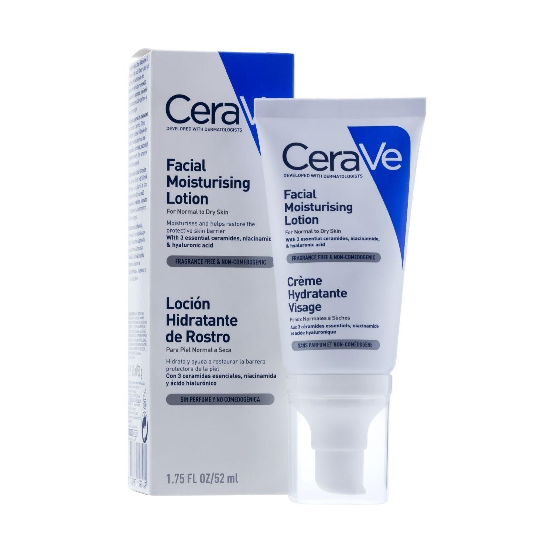 CeraVe  Loción Hidratante Facial 52ml