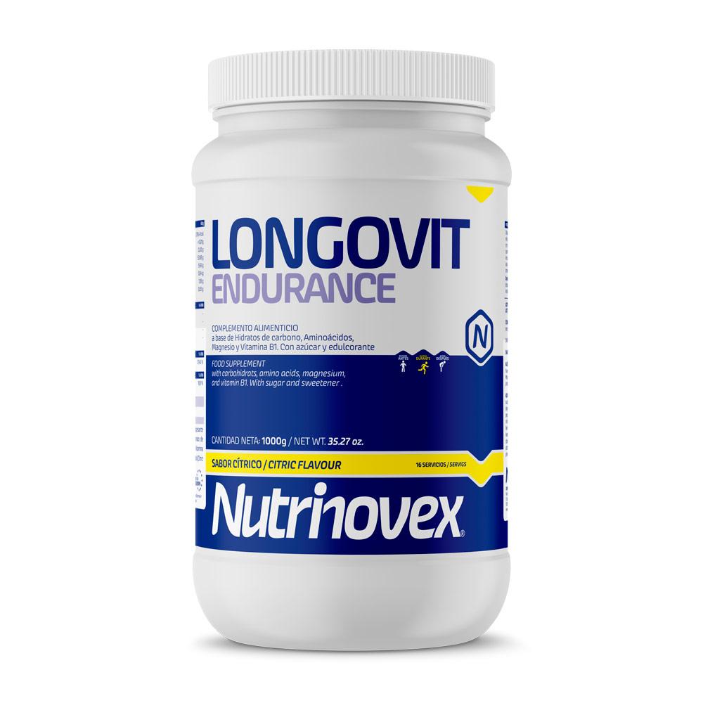 NUTRINOVEX LONGOVIT ENDURANCE 1000 G CITRICO