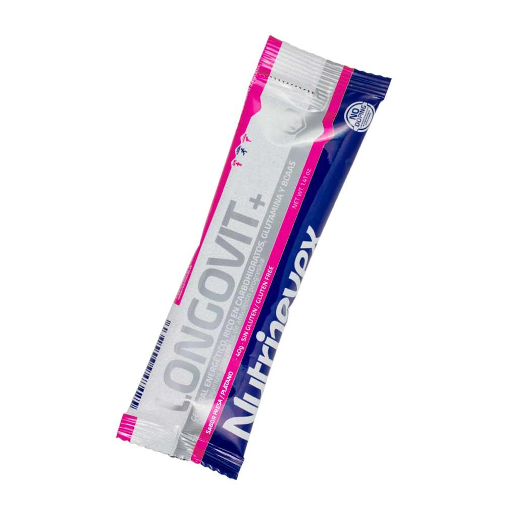 NUTRINOVEX LONGOVIT GEL ORAL 40 G FRESA-PLATANO