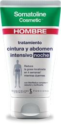 SOMATOLINE COSMETIC HOMBRE INTENSIVO NOCHE CINTURA Y ABDOMEN 150 ML