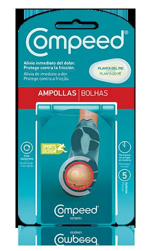 COMPEED AMPOLLAS PLANTA DEL PIE 5 U
