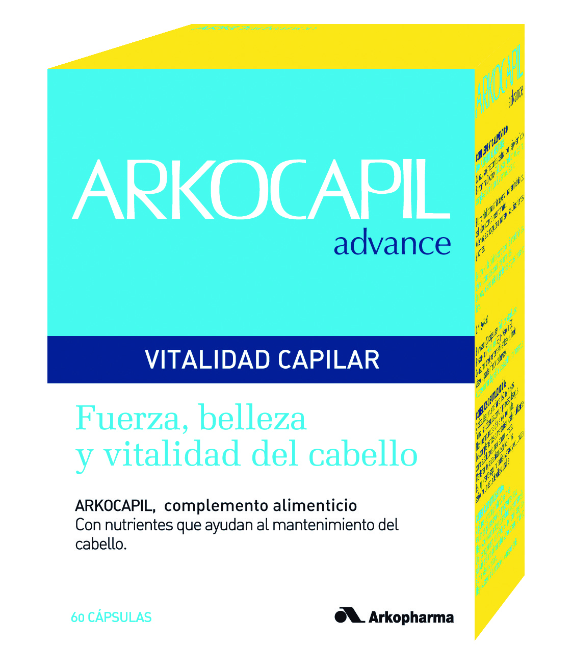 ARKOCAPIL ADVANCE 60 CPS