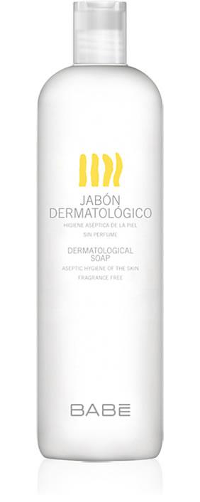 BABE JABON DERMATOLOGICO CON ANTISEPTICOS  500 ML