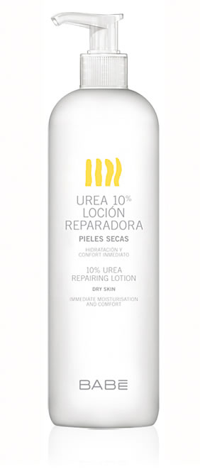 BABE UREA 10% LOCION REPARADORA PIELES SECAS  500 ML