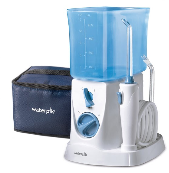 IRRIGADOR BUCAL ELECTRICO WATERPIK WP- 300 TRAVELER CON ADAPTADOR