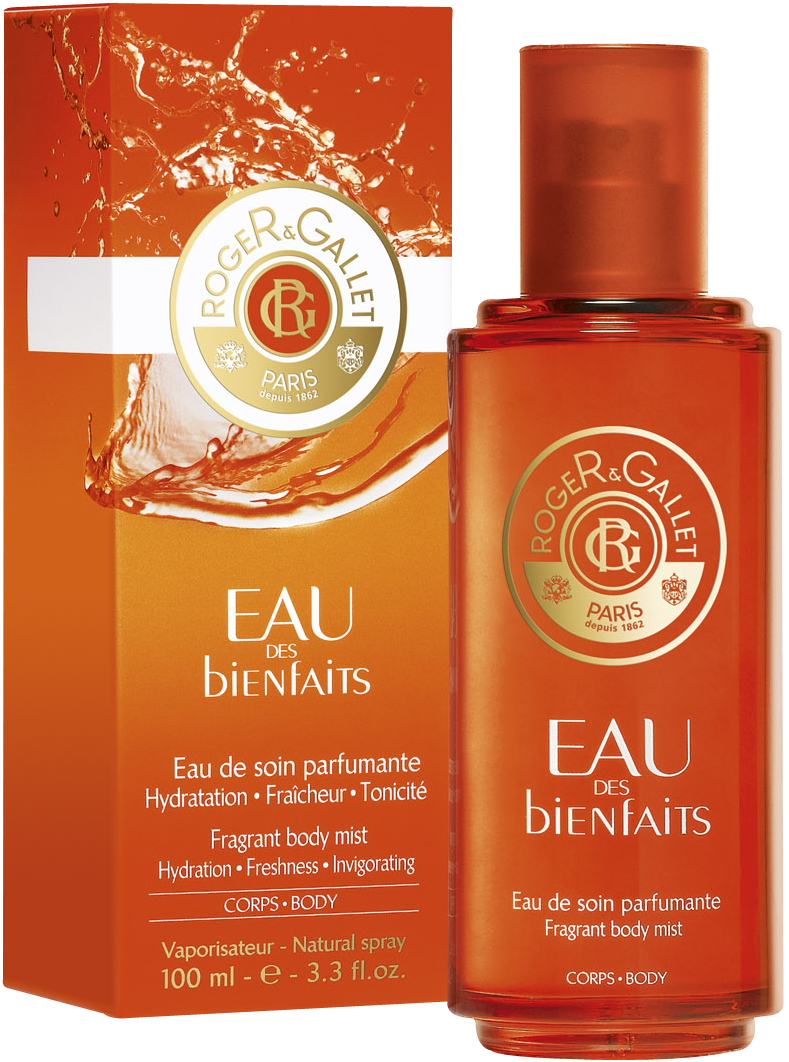 ROGER & GALLET EAU DES BIENFAITS FRAGANT BODY MIST 100 ML