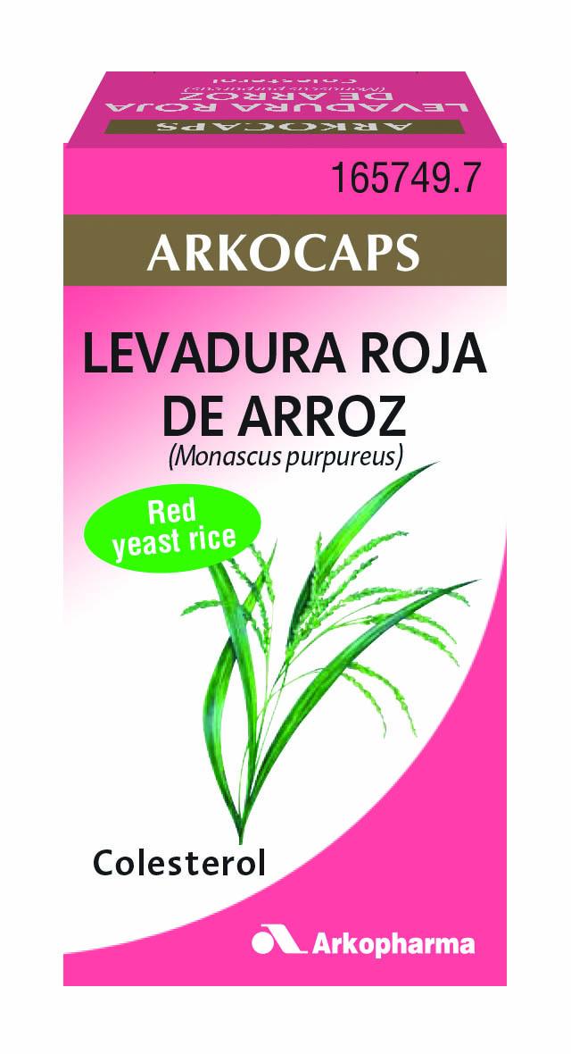 ARKOCAPS LEVADURA ROJA DE ARROZ  45 CAPS