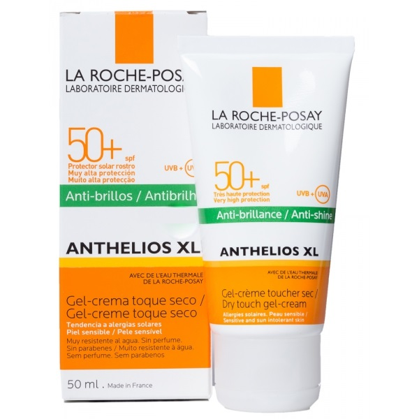 ANTHELIOS XL SPF 50+ GEL-CREMA TOQUE SECO 50 ML