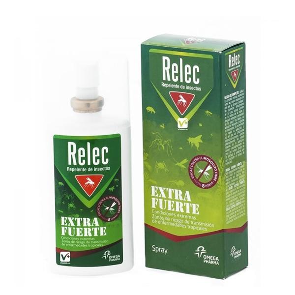 RELEC EXTRA FUERTE SPRAY REPELENTE MOSQUITO 75 ML
