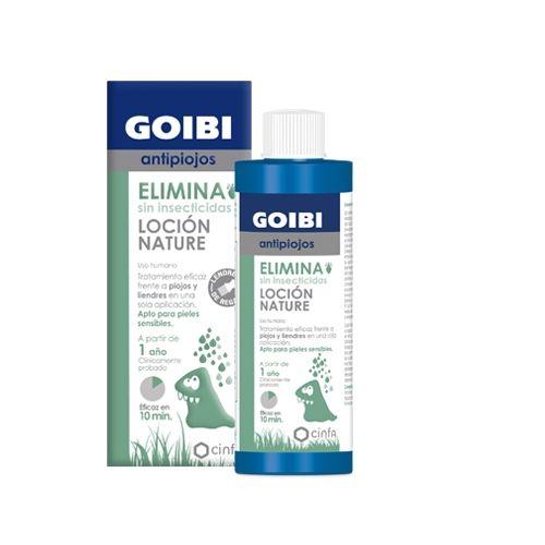GOIBI ANTIPIOJOS LOCION NATURE ELIMINA SIN INSECTICIDA 200 ML