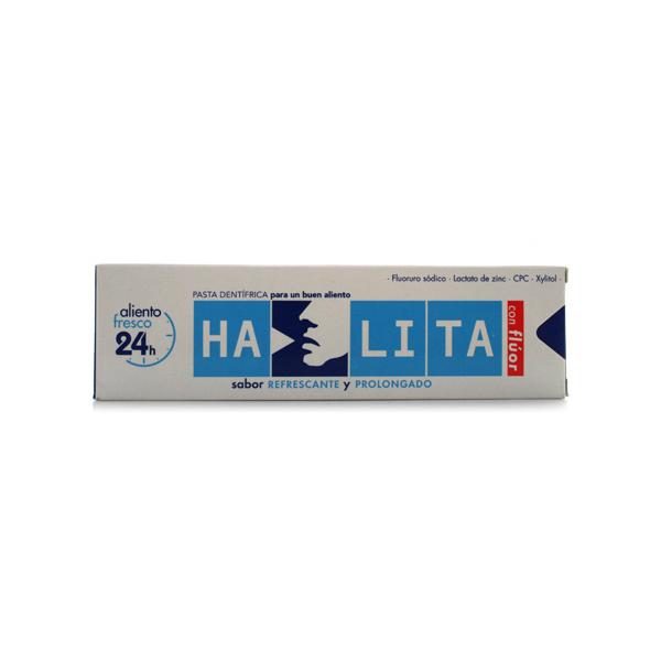 HALITA CON FLUOR PASTA DENTIFRICA 75 ML