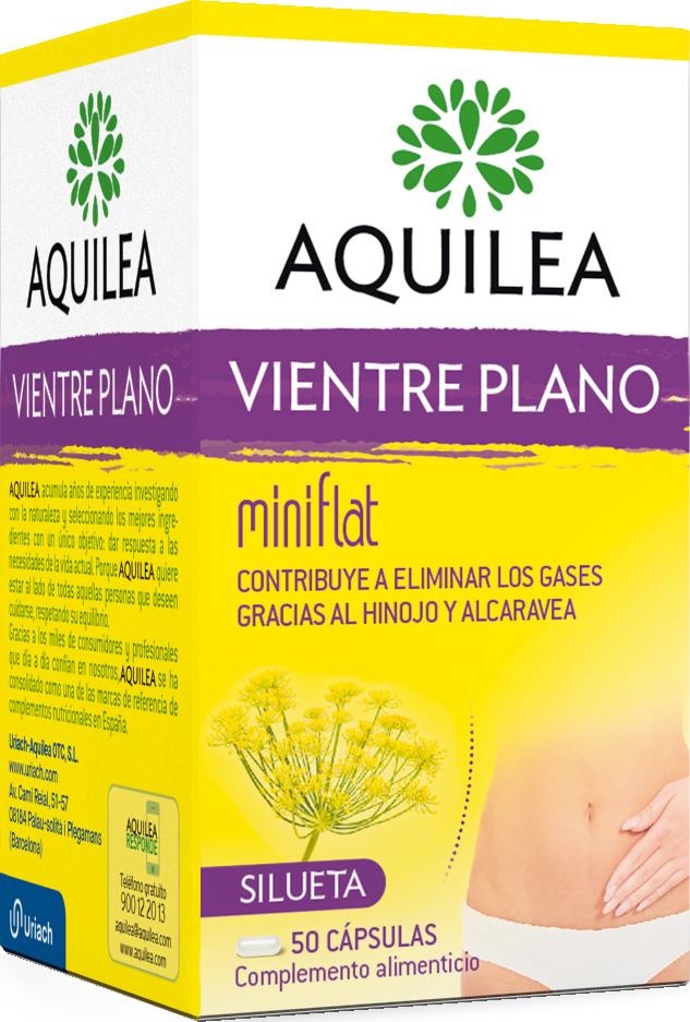 AQUILEA VIENTRE PLANO MINIFLAT  50 CAPSULAS