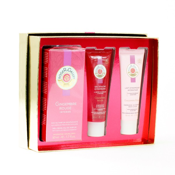 ROGER & GALLET COFRE GINGEMBRE ROUGE INTENSE AGUA FRESCA PERFUMADA 50 ML
