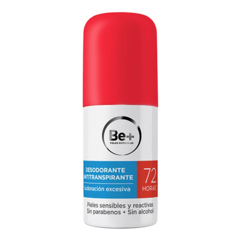 BE+ DESODORANTE ANTITRANSPIRANTE 72 H  50 ML
