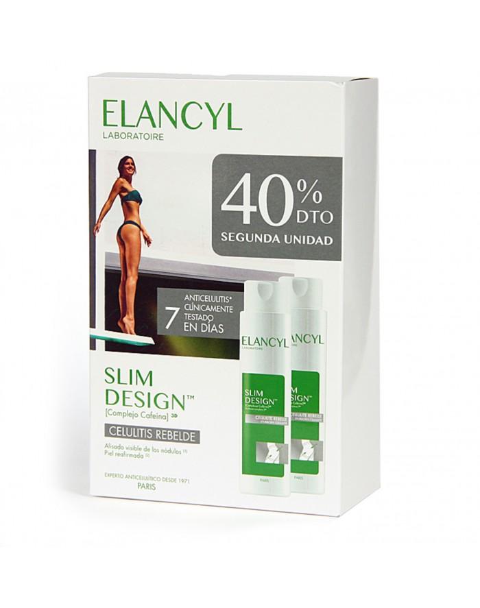 ELANCYL SLIM DESIGN  PACK DUO 200 ML 2U