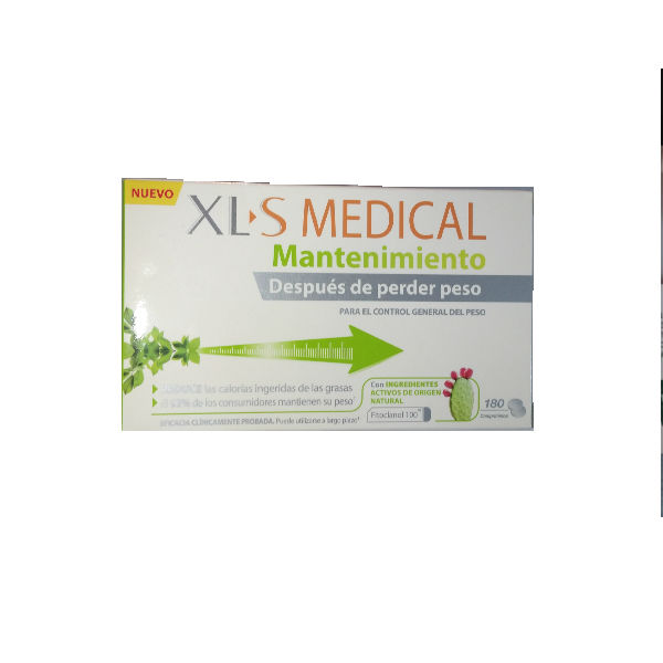 XLS MEDICAL MANTENIMIENTO 180 COMPRIMIDOS