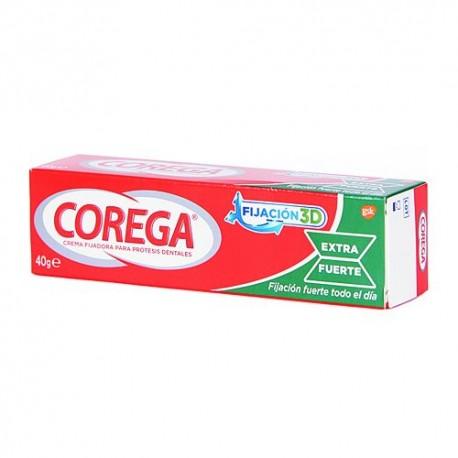 COREGA  EXTRA FUERTE FIJACION 3D 40 G