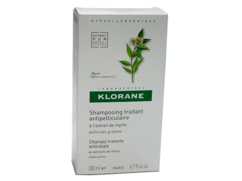 KLORANE CHAMPU EXTO MIRTO 200ML