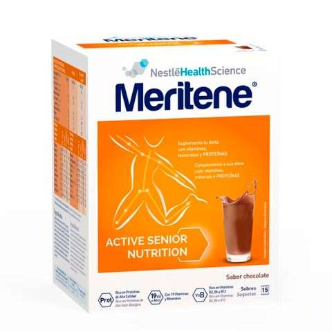 MERITENE CHOCOLATE INST 15SOB