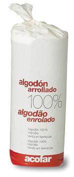 ALGODON ACOFAR ARROLLADO 100% PURO 250 GR
