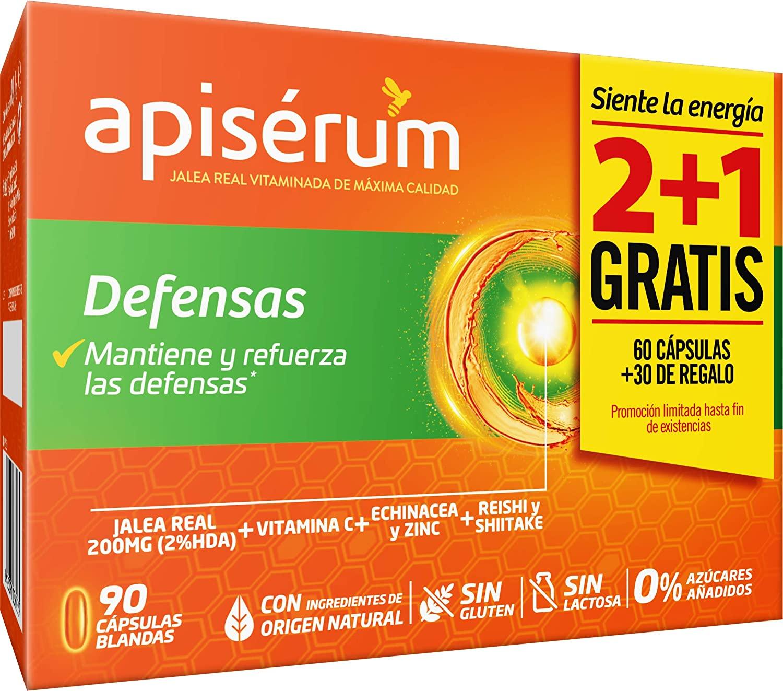 APISERUM DEFENSAS 60 CAPSULAS + 30 DE REGALO