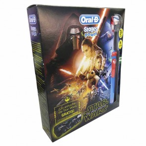 CEPILLO ELECTRICO ORAL B PACK NIÑOS STAR WARS REGALO ESTUCHE