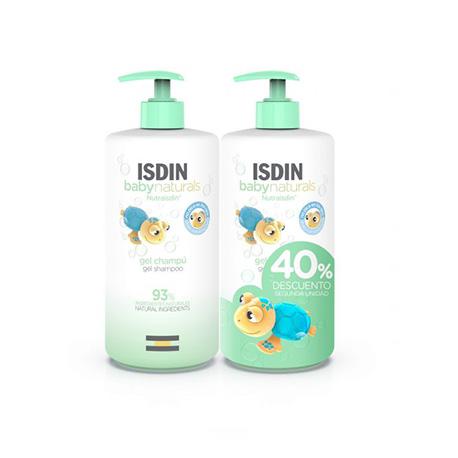 ISDIN BABY NATURALS DUPLO GEL CHAMPU 750ML + 750ML