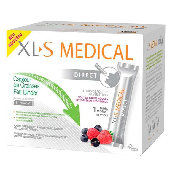 XLS MEDICAL DIRECT 90 STICKS