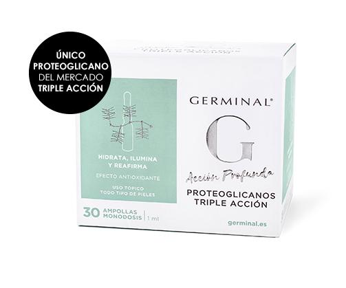 GERMINAL ACCIÓN PROFUNDA PROTEOGLICANOS TRIPLE ACCIÓN 30 AMPOLLAS