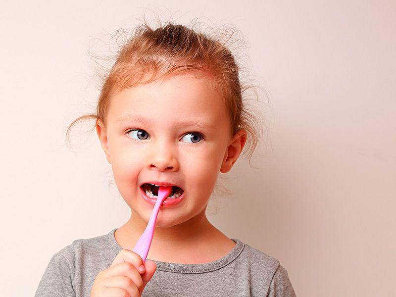 Tecnica de cepillado en niños