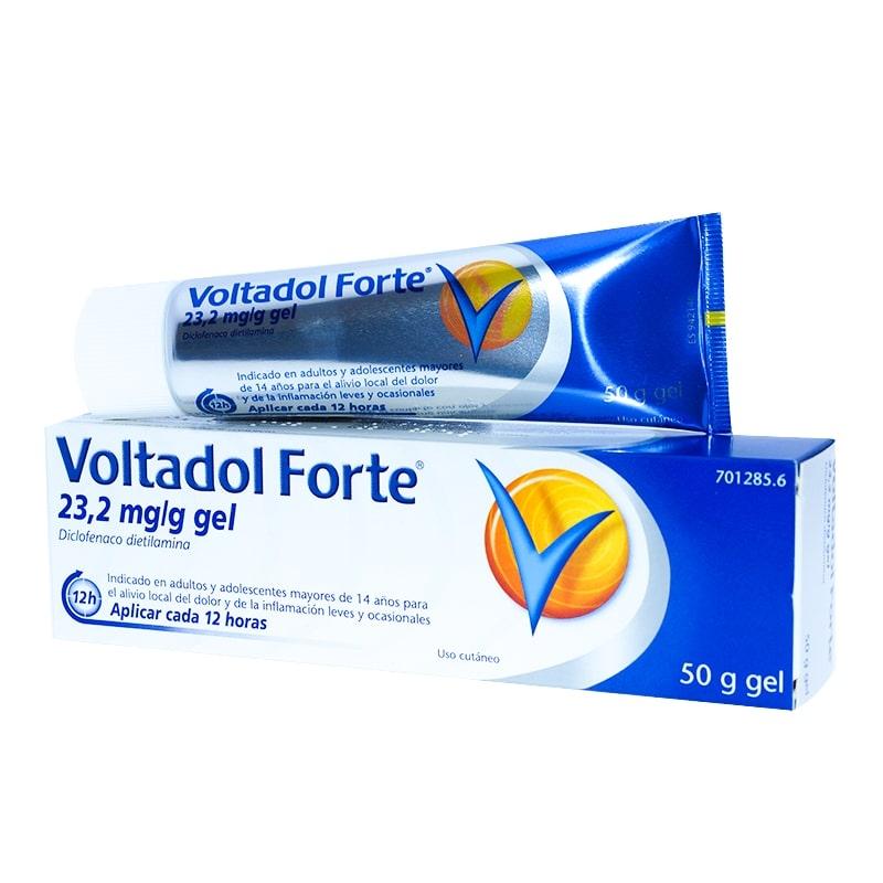 VOLTADOL FORTE 23,2 MG/G GEL TOPICO 50 G